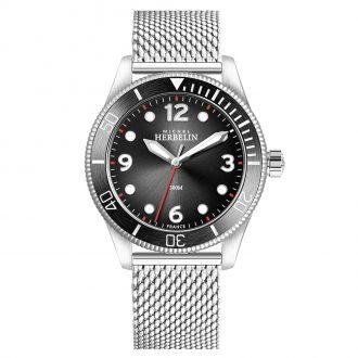 MICHEL HERBELIN - Trophy Diver Watch 12260/AN14B