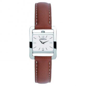 MICHEL HERBELIN - Fifth Avenue Tan Strap Watch 17037/21GO