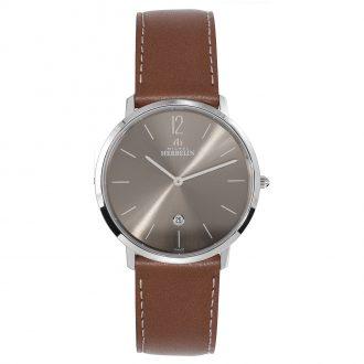 MICHEL HERBELIN - City Leather Strap Watch 19515/27GO