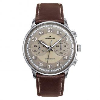 JUNGHANS - Meister Driver Chronoscope Watch 027/3684.00