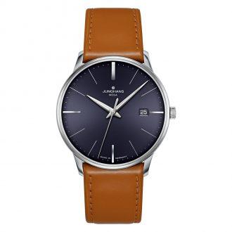 JUNGHANS - Meister Mega Blue Dial Watch 058/4801.00