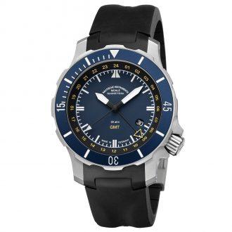 MÜHLE-GLASHÜTTE - Seabataillon GMT Watch M1-28-62-KB