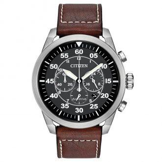 CITIZEN - Avion Men's Pilot Chronograph CA4210-24E