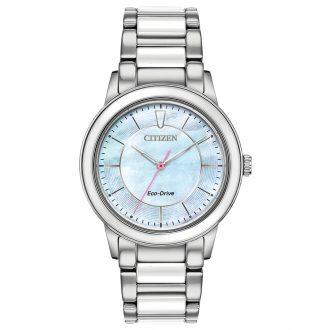CITIZEN - Ceramic Stainless Steel Watch EM0740-53D