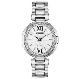 CITIZEN - Capella Diamond Stainless Steel Watch EX1500-52A