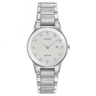 CITIZEN - Axiom Diamond Steel Watch GA1050-51B