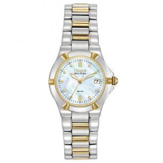 CITIZEN - Riva Two Tone Bracelet Watch EW1534-57D