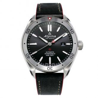 ALPINA - Alpiner 4 Automatic Leather Strap Watch AL-525BS5AQ6