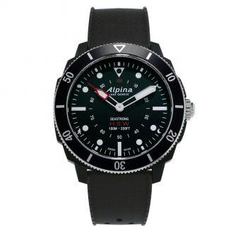 ALPINA - Seastrong Horological Smartwatch Black AL-282LBB4V6