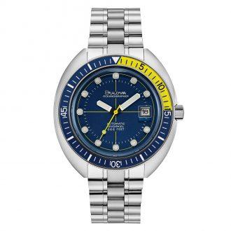 BULOVA - 70's Oceanographer Diver Watch 96B320