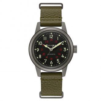 BULOVA - Hack Military Automatic Watch 98A255
