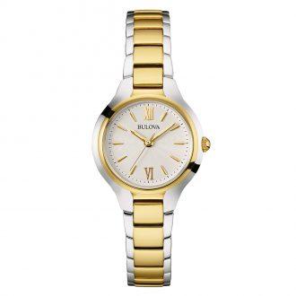 BULOVA - Classic Two Tone Women's Bracelet Watch 98L217