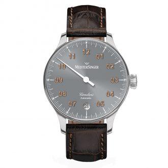 MEISTERSINGER - Circularis Automatic Grey Dial Watch CC927G_SL02