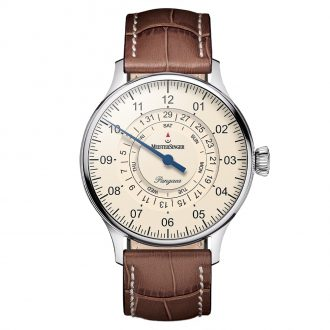 MEISTERSINGER - Pangaea Day Date Strap PDD903_SG02W