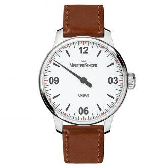 MEISTERSINGER - Urban Opaline Silver Dial Watch UR901_SKK03