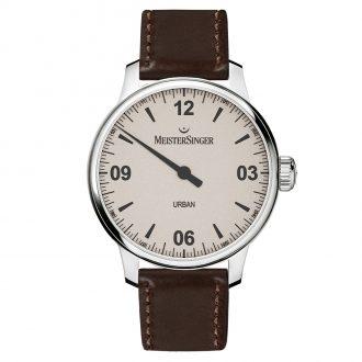 MEISTERSINGER - Urban Brown Strap Watch UR913_SKK02