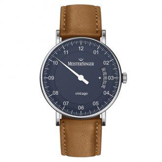 MEISTERSINGER - Vintago Blue Dial Watch VT908_SN03