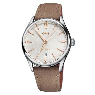 ORIS - Artelier Chronometer Date Silver Dial 0173777214031-0752132FC