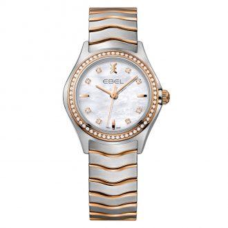 EBEL - Wave Women's Diamond White Dial Watch 1216325