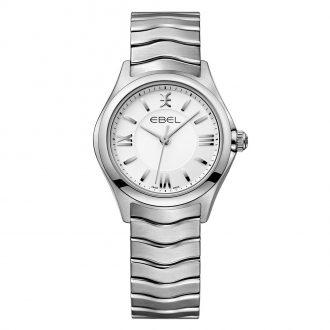 EBEL - Wave Women's Silver Dial Bracelet Watch 1216374