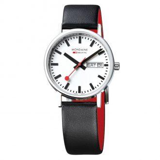 MONDAINE - Classic 36mm Day Date Watch A667.30314.11SBB
