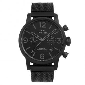 TW STEEL - Maverick Black Dial Chronograph MB33