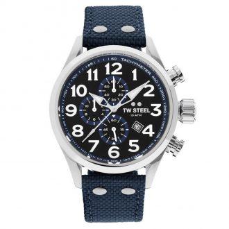 TW STEEL - Volante Men's Blue Strap Watch VS33
