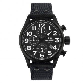 TW STEEL - Volante Chronograph Men's Black Dial Watch VS44