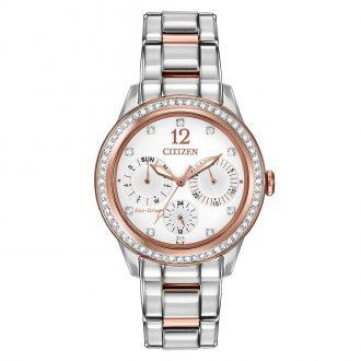 CITIZEN - Silhouette Crystal Women's Bracelet Watch FD2016-51A