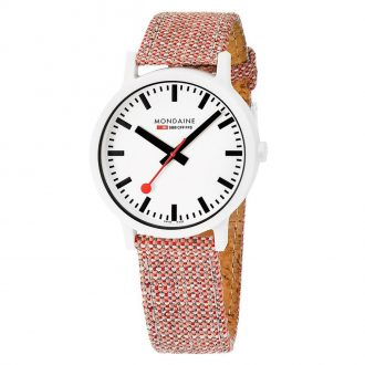 MONDAINE - Essence 41mm Sustainable Watch MS1.41110.LP