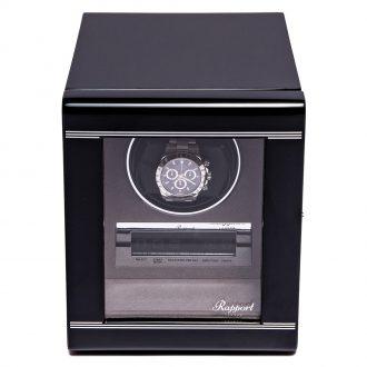 RAPPORT - Formula Single Watch Winder in Ebony Black W551