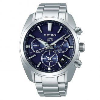 SEIKO ASTRON - Blue Dial GPS Solar Watch SSH019J1