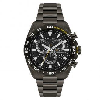 CITIZEN - Perpetual Chronograph A-T Radio Controlled Watch CB5037-50E