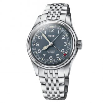 ORIS - Big Crown Pointer Date Blue Dial Bracelet Watch 0175477414065-0782022