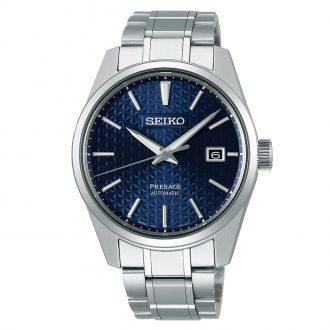 SEIKO PRESAGE - Sharp Edged Series Blue Dial Watch SPB167J1