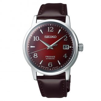 SEIKO PRESAGE - Negroni Cocktail Time Red Dial Automatic Watch SRPE41J1