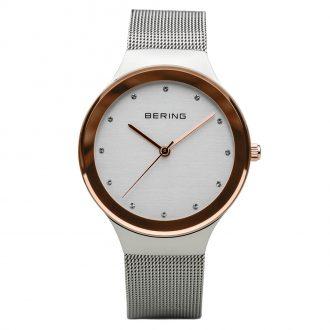 BERING - Classic Polished Silver Women's Bracelet Watch 12934-060