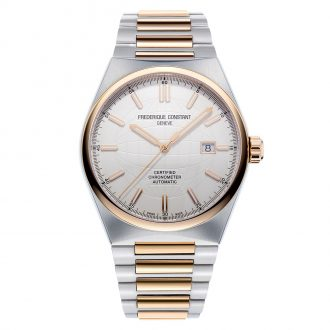 FREDERIQUE CONSTANT - Highlife Automatic COSC Chronometer Silver Dial FC-303V4NH2B