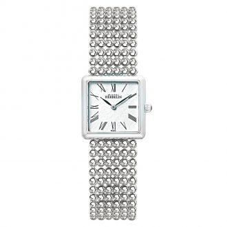 MICHEL HERBELIN - Perle Square Bracelet Roman Dial Watch 17493/B08