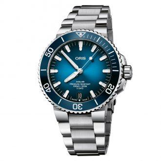 ORIS - Aquis Date Calibre 400 Bracelet Watch 0140077634135-0782409PEB