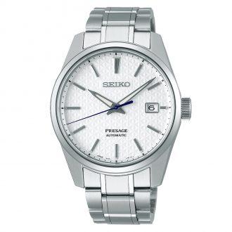 SEIKO PRESAGE - Sharp Edged Series White Dial Watch SPB165J1