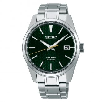 SEIKO PRESAGE - Sharp Edged Series Green Dial Watch SPB169J1