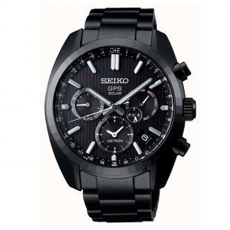SEIKO ASTRON - 50th Anniversary Limited Edition Solar GPS Black PVD SSH023J1
