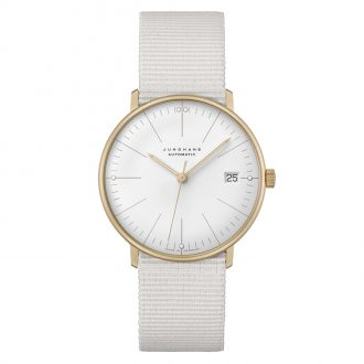 JUNGHANS - Max Bill 34mm Automatic Watch 027/7006.04