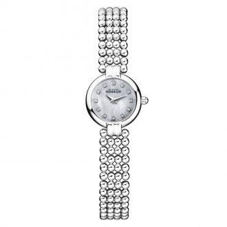 MICHEL HERBELIN - Perle Stainless Steel Bracelet Watch 17433/B59