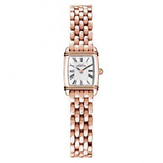 MICHEL HERBELIN - Art Deco Mini Rose Gold PVD Bracelet Watch 17438/PR08B