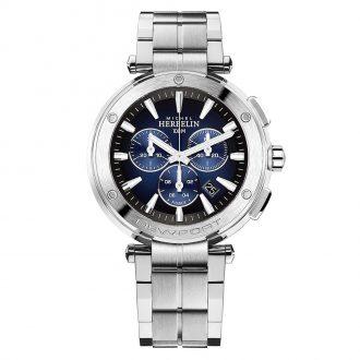 MICHEL HERBELIN - Newport Chronograph Bracelet Watch 37688/B35