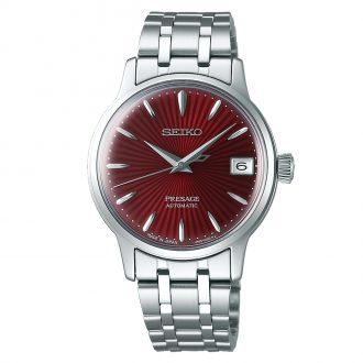 SEIKO PRESAGE - Women's Kir Royale Red Dial Auto Watch SRP853J1