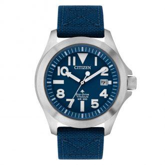 CITIZEN - Promaster Tough Blue Dial Super Titanium Watch BN0118-12L