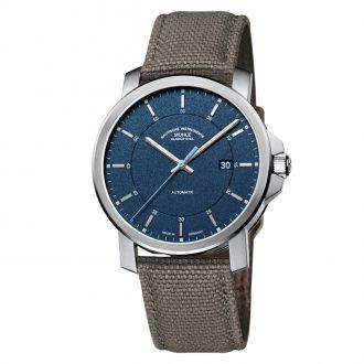 MÜHLE-GLASHÜTTE - 29er Casual Blue Dial Strap Watch M1-25-72-NB